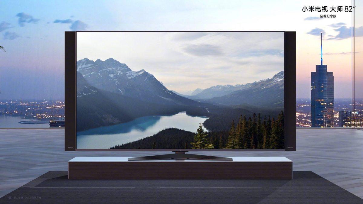 Xiaomi Mi Tv Master 82 Zoll Anniversary Edition