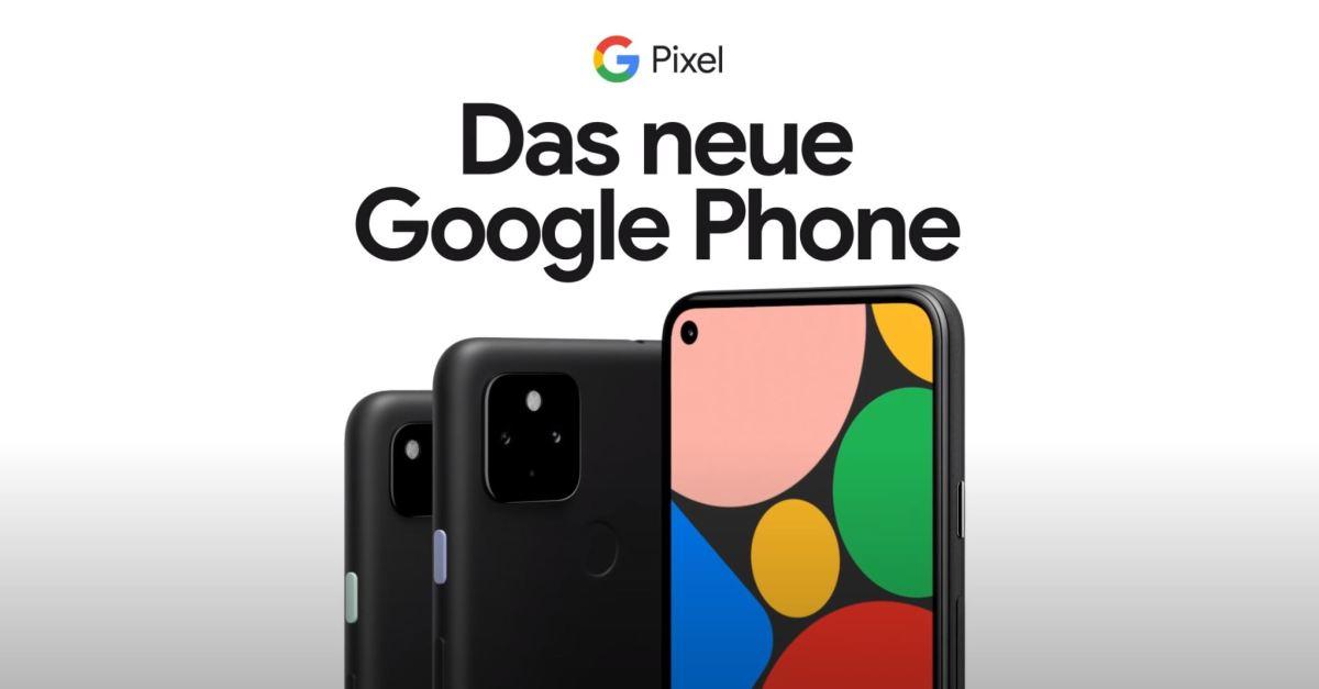 Das Neue Google Phone Pixel 4a Und 5