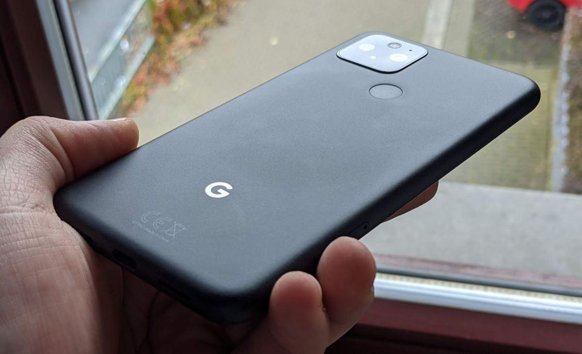 Google Pixel 5 Rückseite