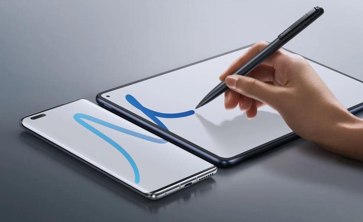 Huawei Smartphone Und Tablet Mit Stift