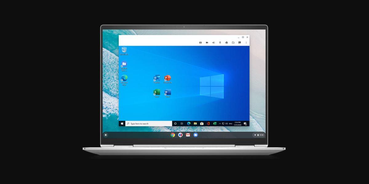 Windows Parallels Chrome Os