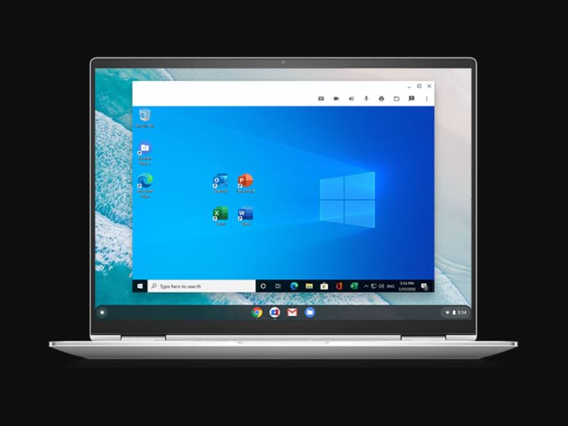 Windows Parallels Chrome Os