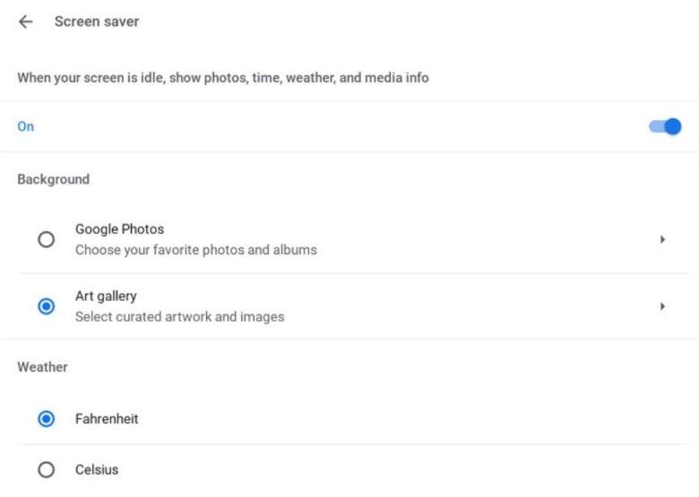 Chrome Os Screen Saver Bildschirmschoner