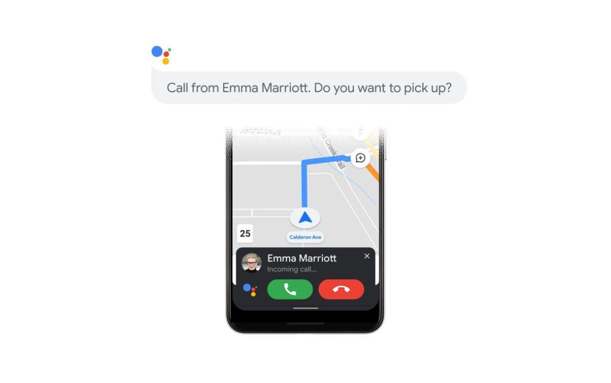 Google Assistant Fahrmodus