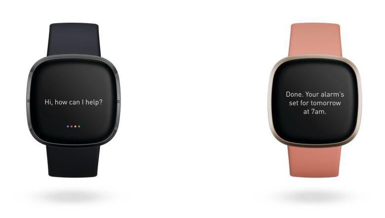 Google Assistant Fitbit