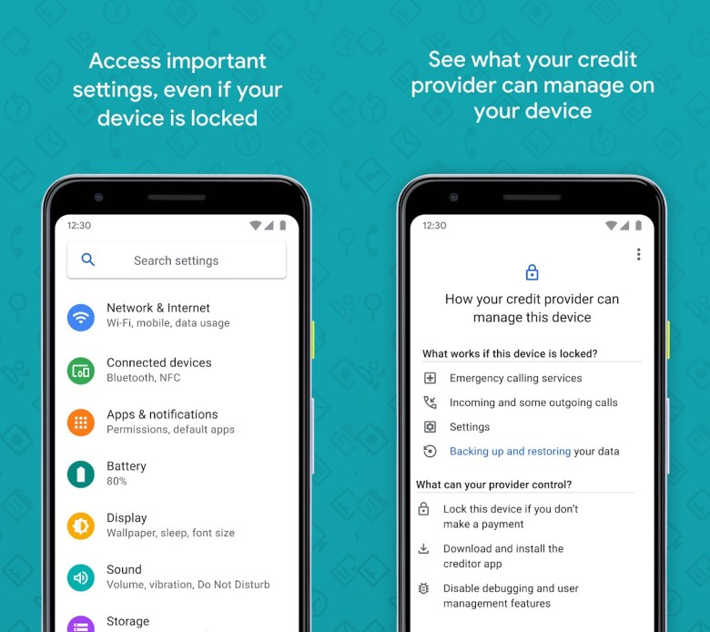 Google Device Lock Controller Screenshots