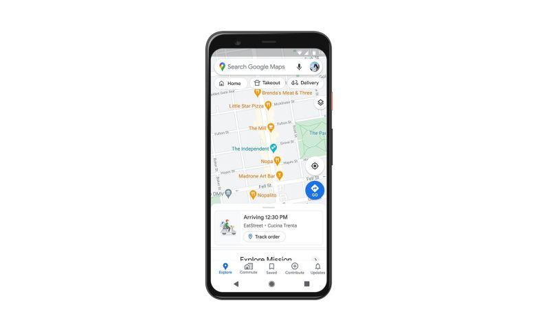 Google Maps Status Lieferungen