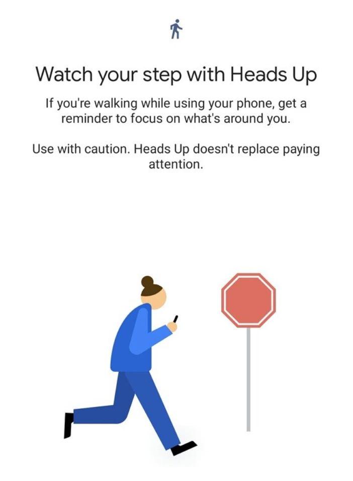 Heads Up Digital Wellbeing