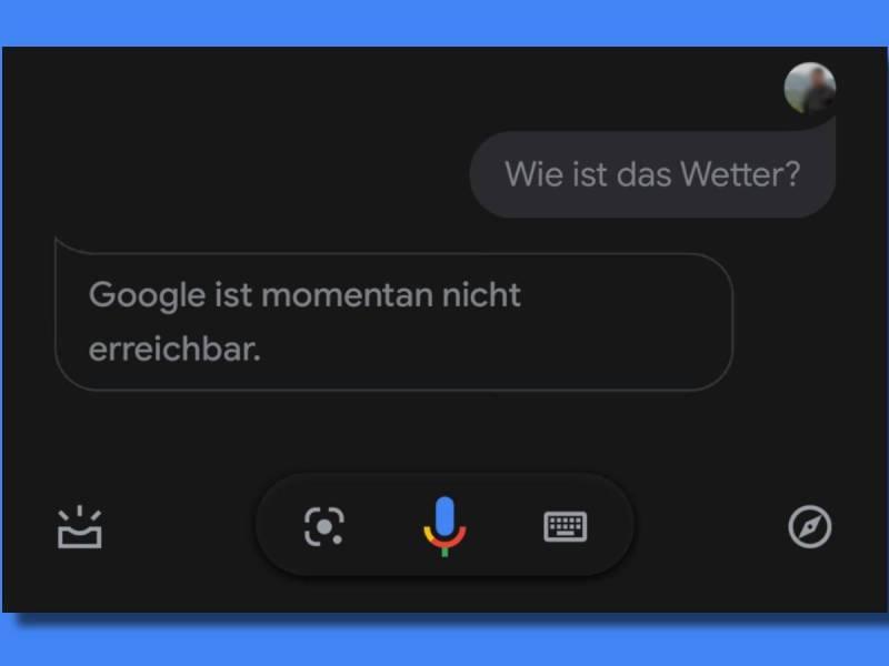 Google Assistant Fehler Nicht Erreichbar
