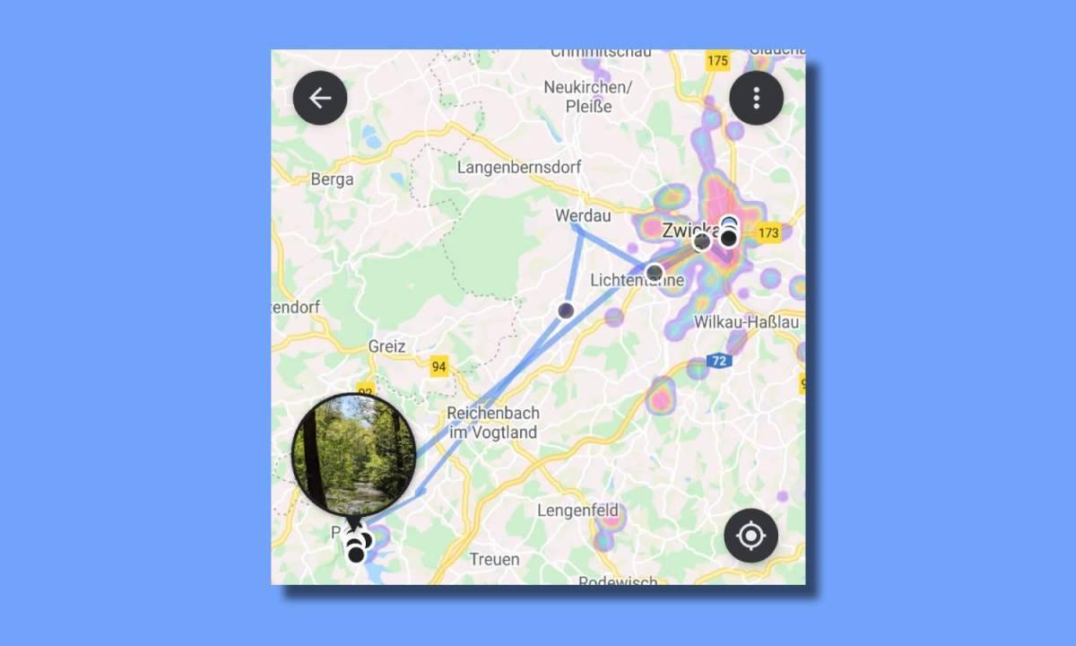 Google Fotos Karte Zeitleiste