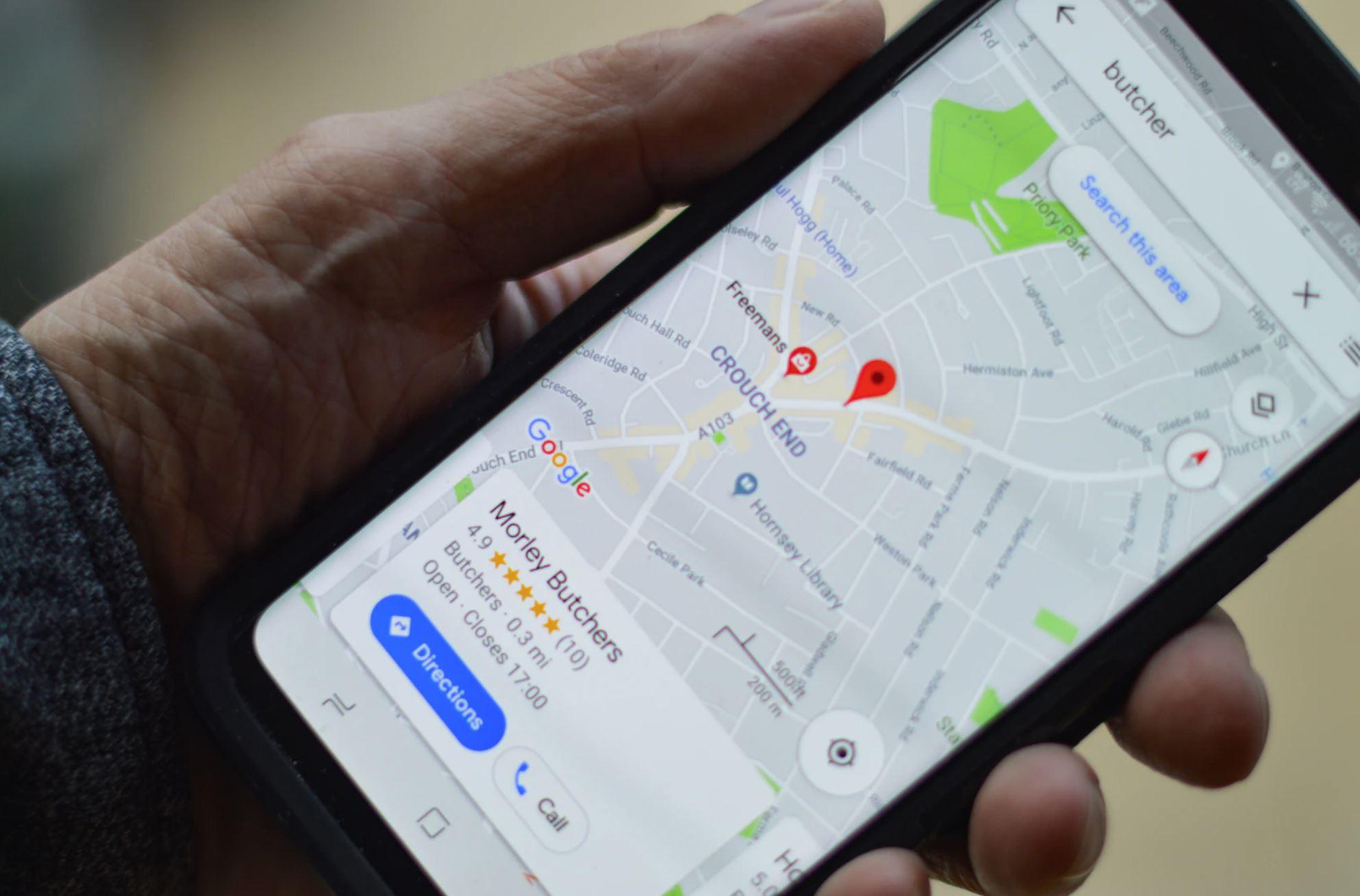 Google Maps ermöglicht jedem Punkt der Erde eine eigene Adresse