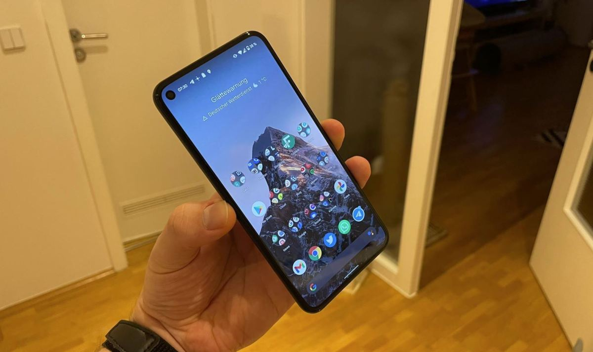 Google Pixel 5 Display