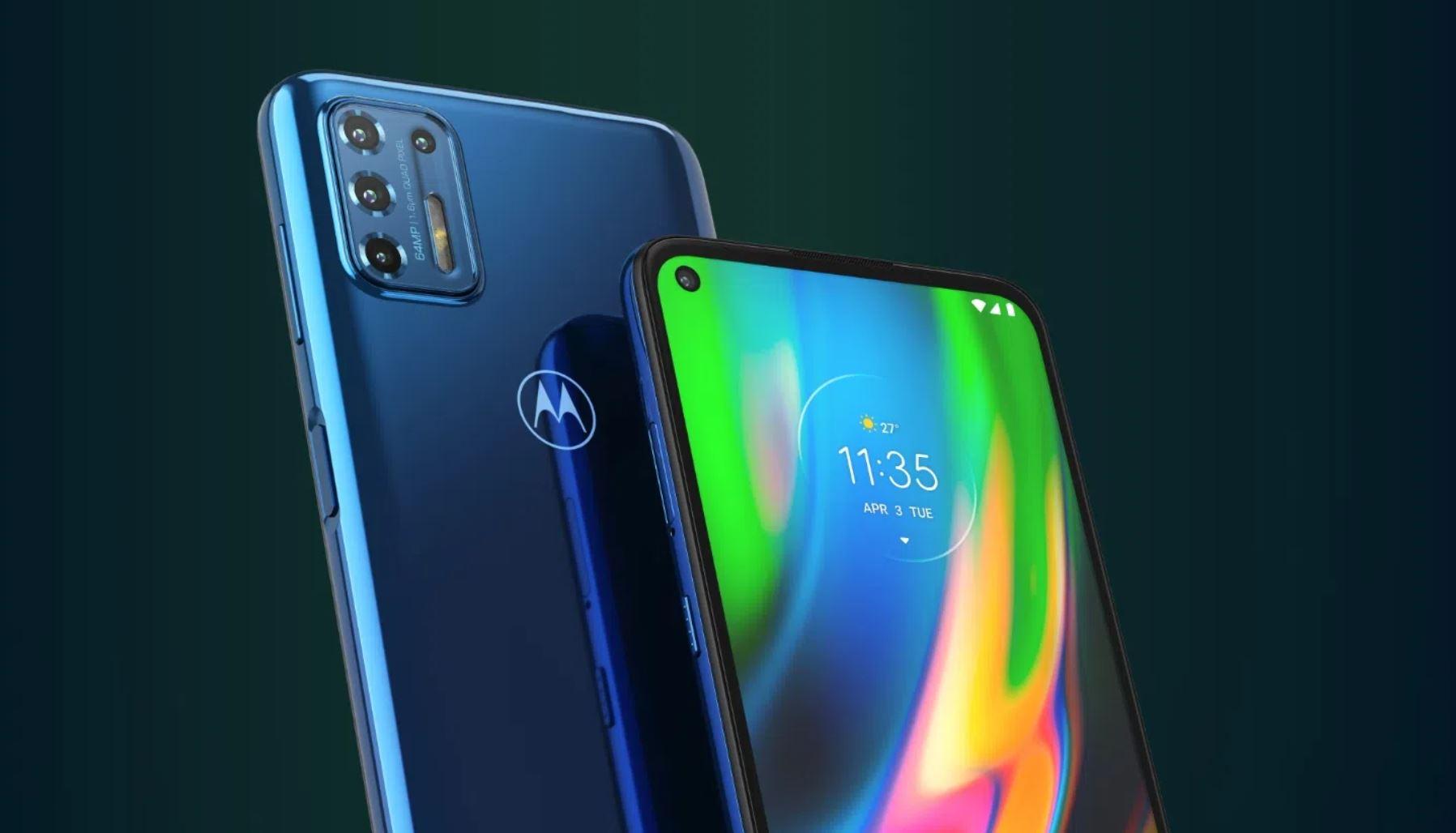 Wieder zum Toppreis: Motorola Moto G9 Plus bei Amazon reduziert!