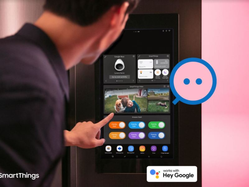 Samsung Smartthings Google Assistant