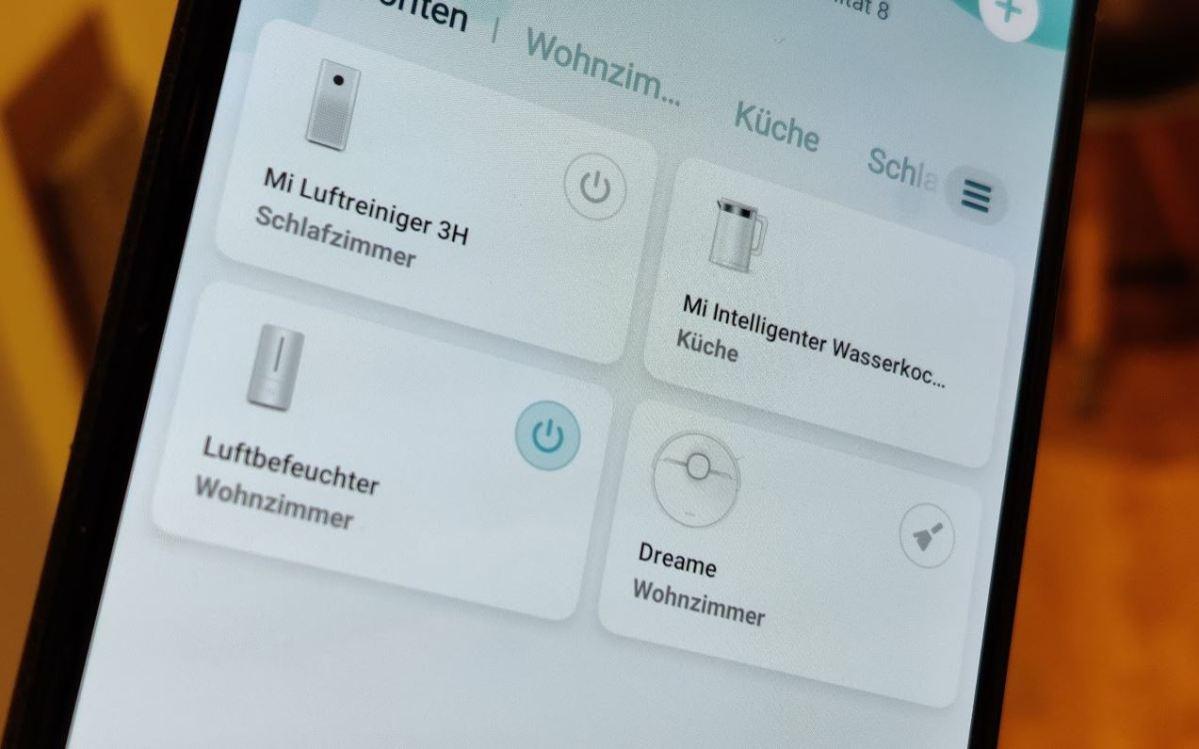 Xiaomi Mi Home App Smarthome Head