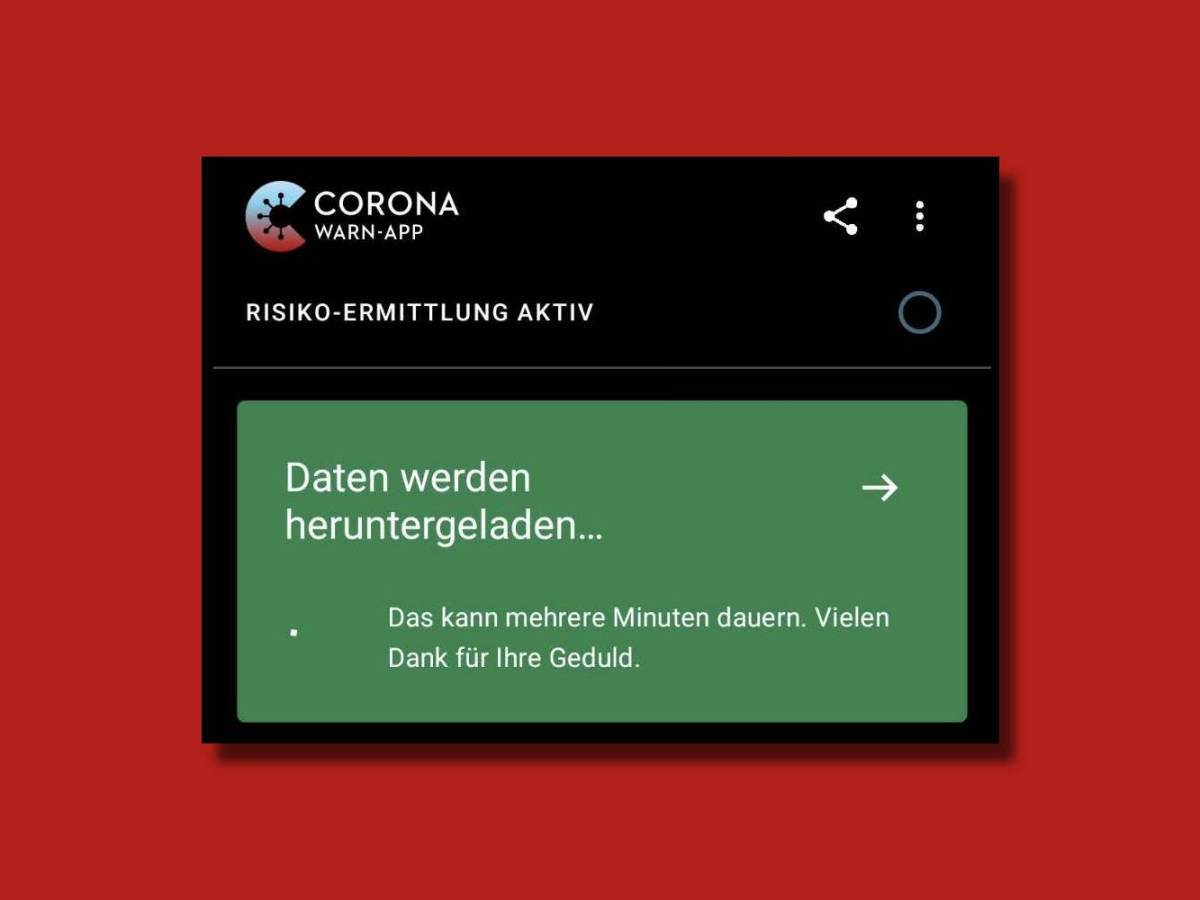 Corona Warn App Fehler Daten Laden Nicht