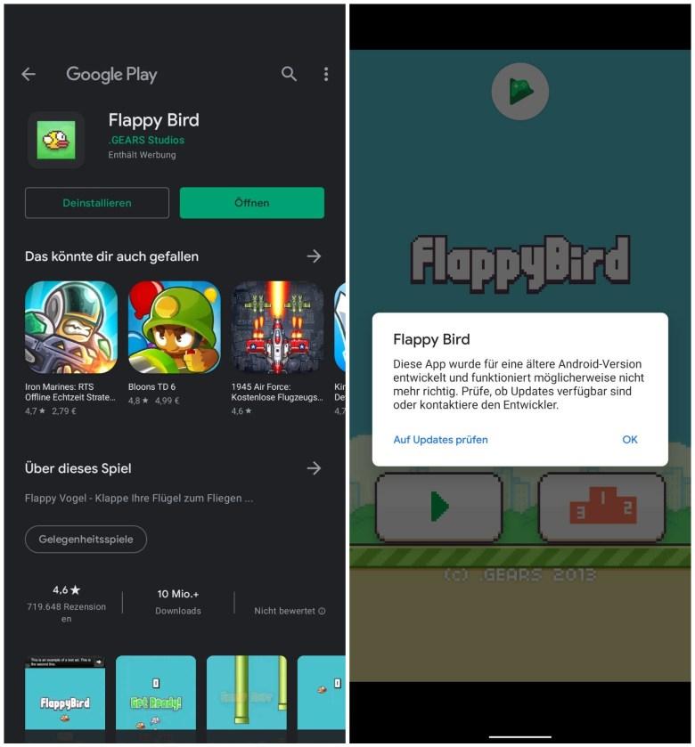 Flappy Bird 2021 Google Play Store