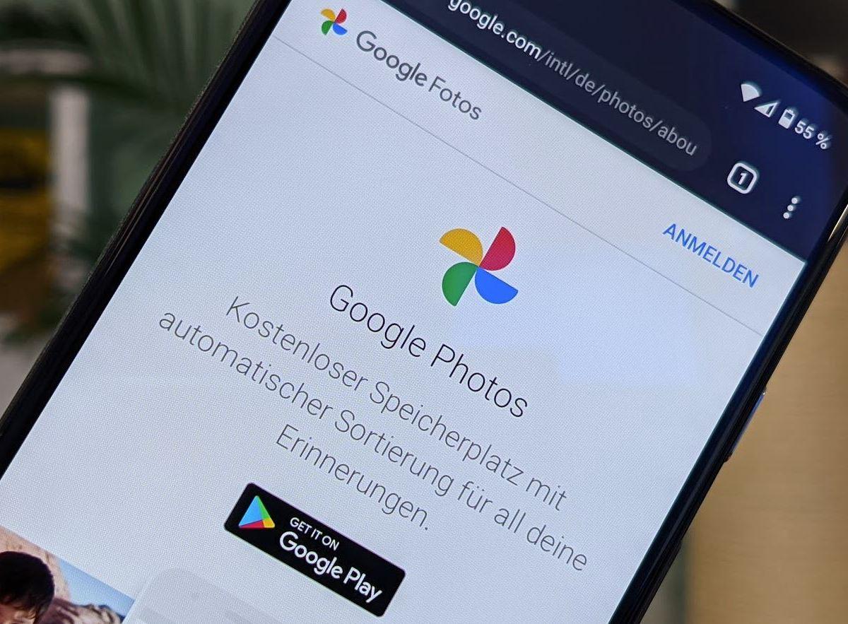 Google Fotos Head