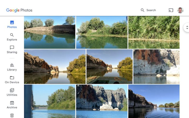 Google Fotos Tablets