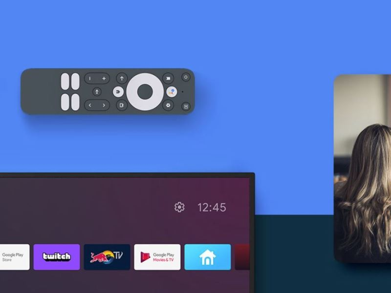 Google Tv Referenzdesign Fernbedienung
