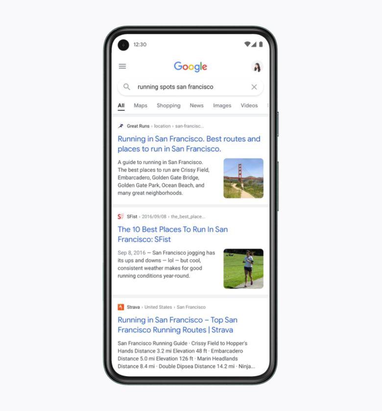 Mobile Google Suche 2021 2