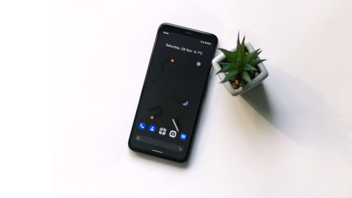 Smartphone Tisch Head
