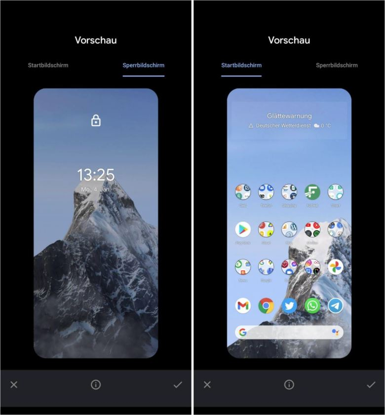Snow Mountain Live Wallpaper
