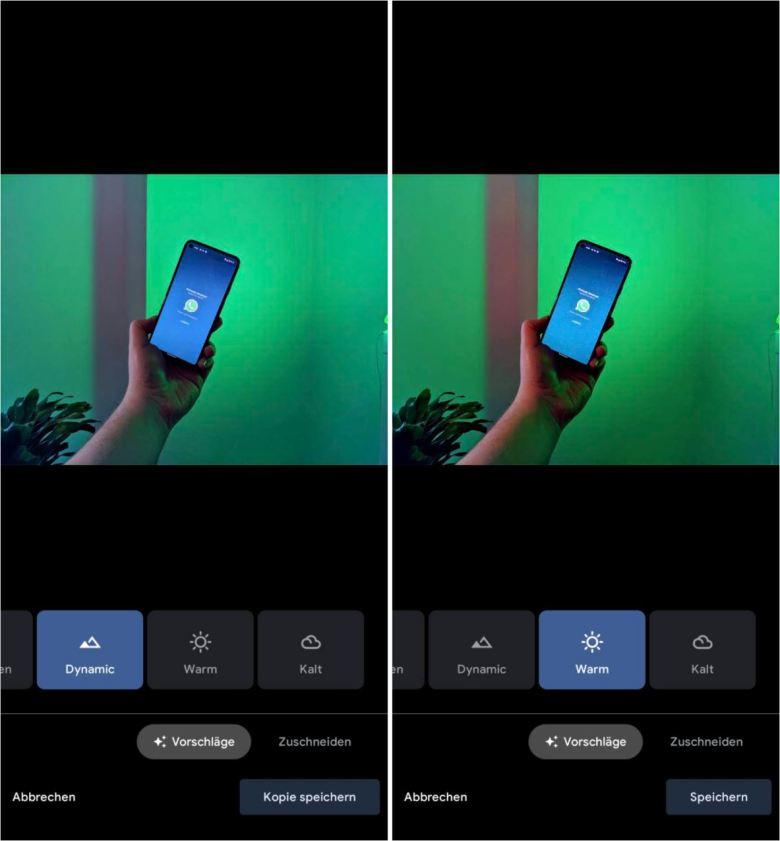 Speichern Oder Kopie Speichern Google Fotos Screenshot