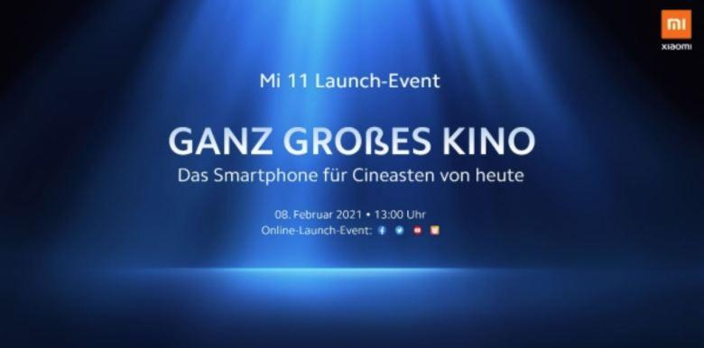 Xiaomi Mi 11 Event Teaser