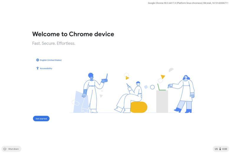 Chrome Os Einrichtung Neu Feb 2021
