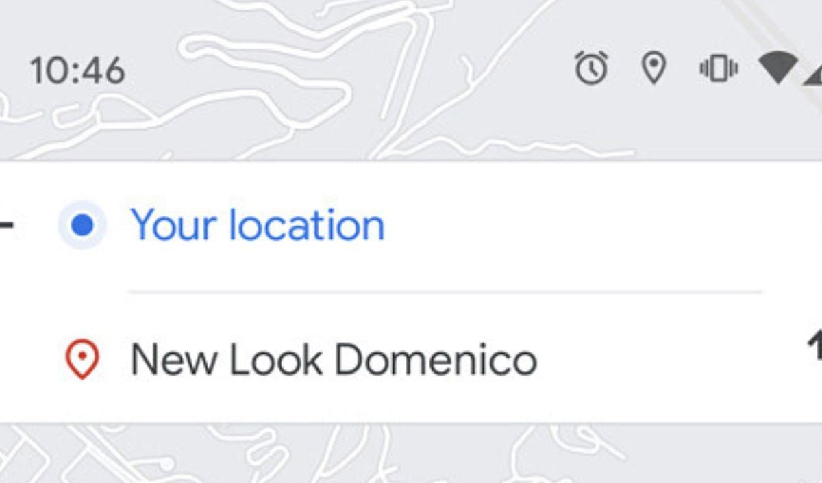 Google Maps Routenplanung Neu Screenshot