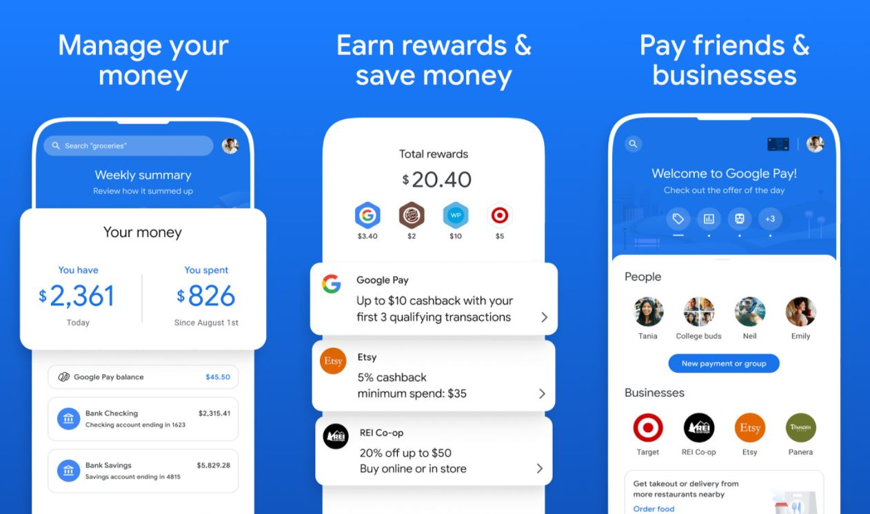 Google Pay Update 2020