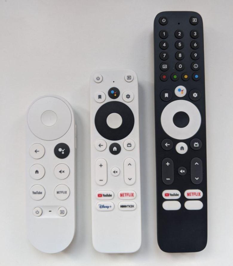 Google Tv Referenz Fernbedienungen