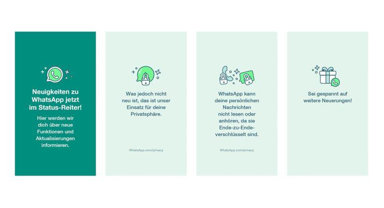 Whatsapp Statusbeiträge Neue Nutzungsbedingungen 2021
