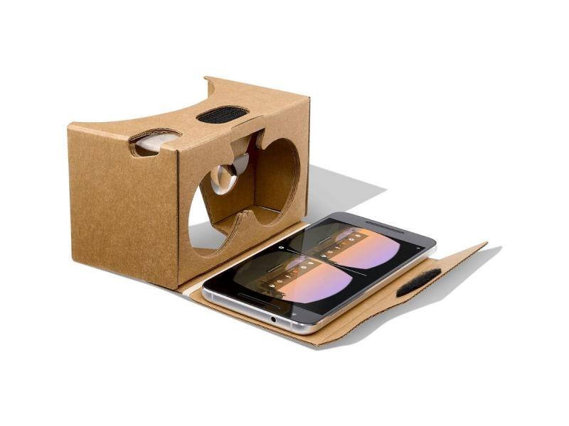 Google Cardboard Vr Header