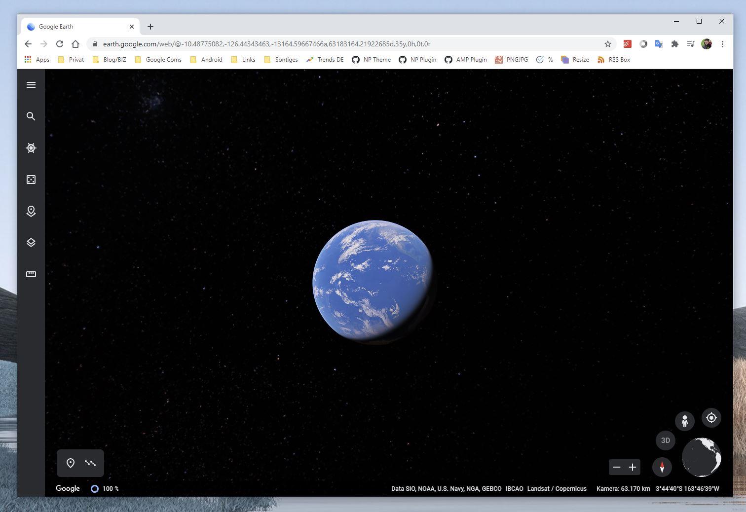 """Google Earth ist jetzt eine 3D Zeitmaschine und erhält """"größtes Update seit Jahren"""""""