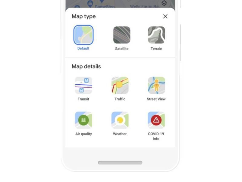 Google Maps Neue Layer Mit Wetter Und Luftqualität