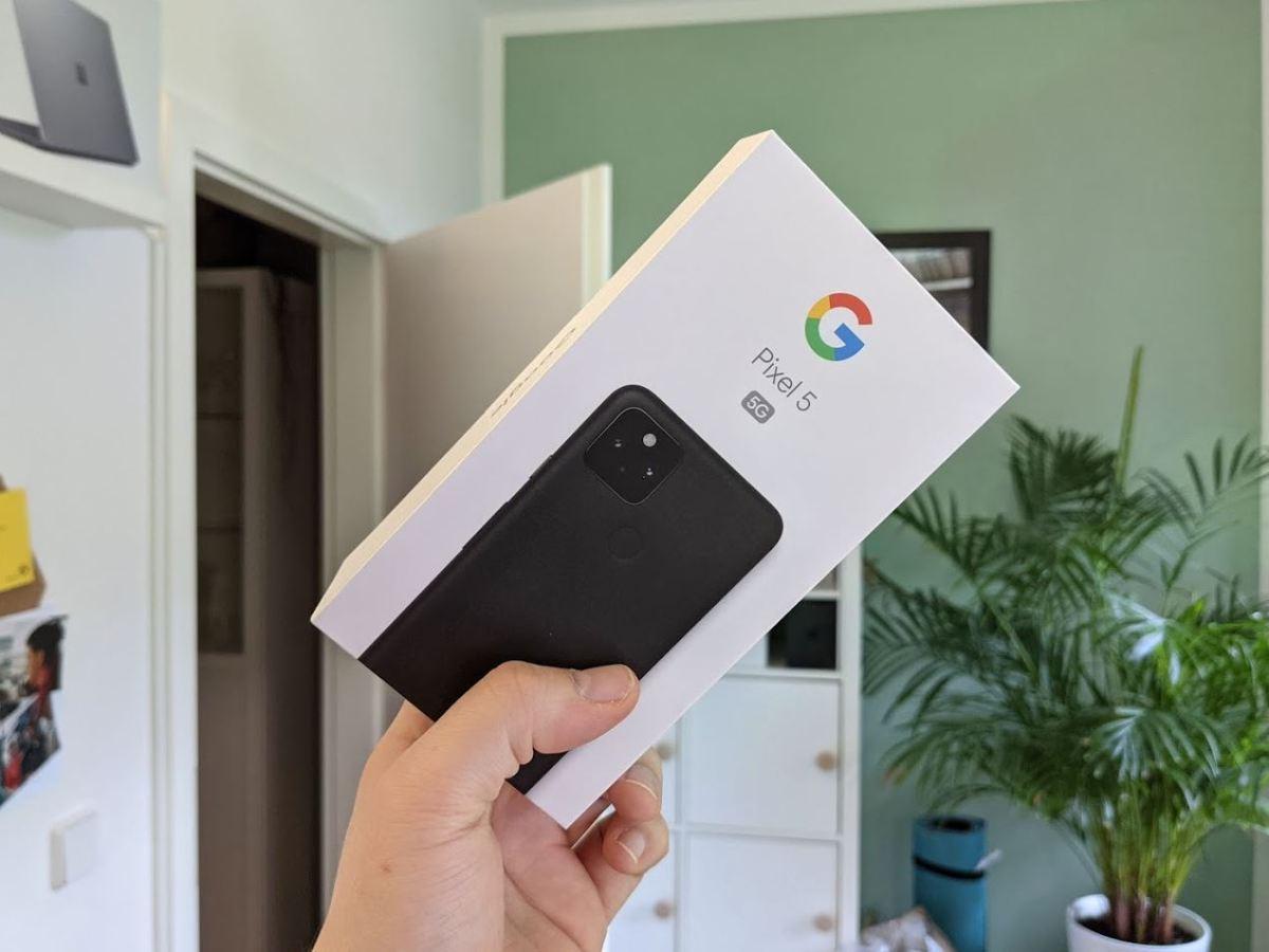 Google Pixel 5 Verpackung