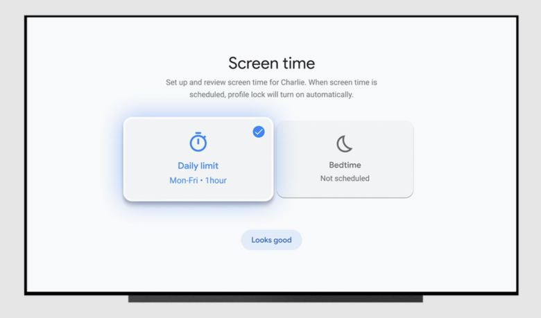 Google Tv Kinderprofil Bildschirmzeit