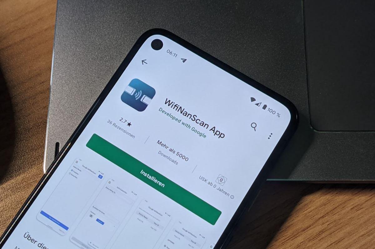Wifinanscan App Google