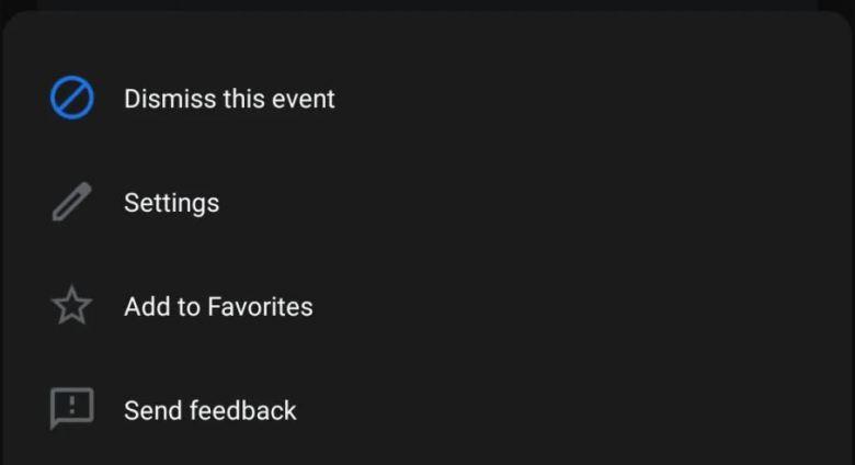 Google Assistant Snapshot Favoriten