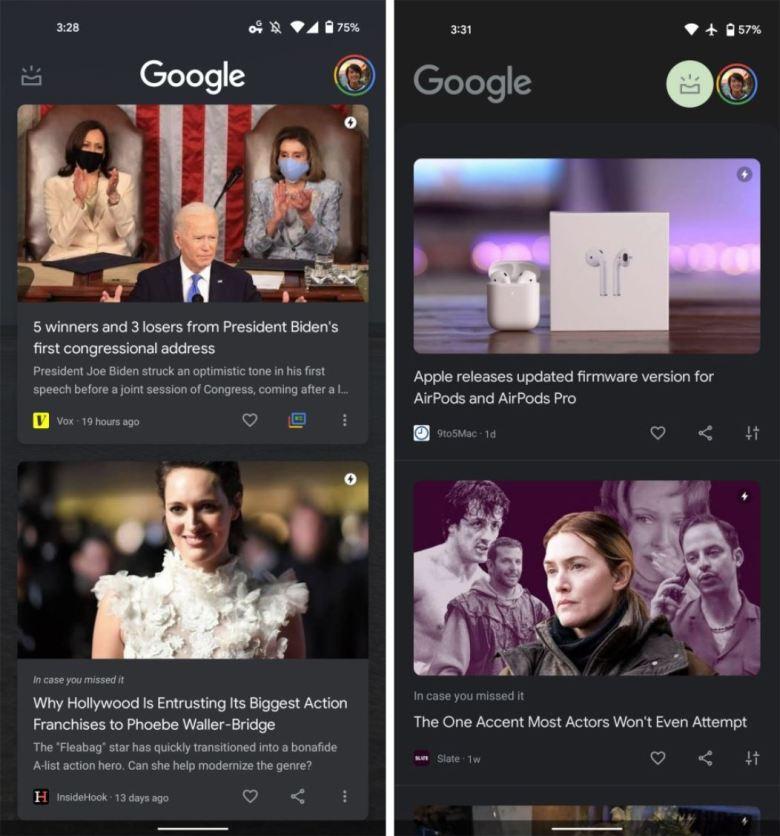 Google Discover Redesign 0421