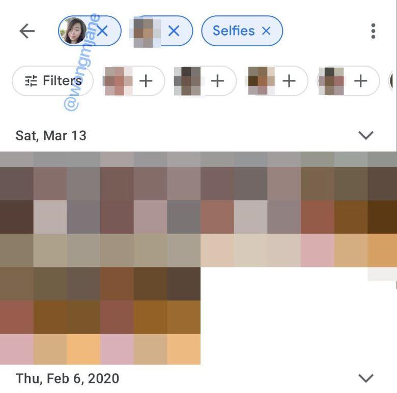 Google Fotos Filter Leak