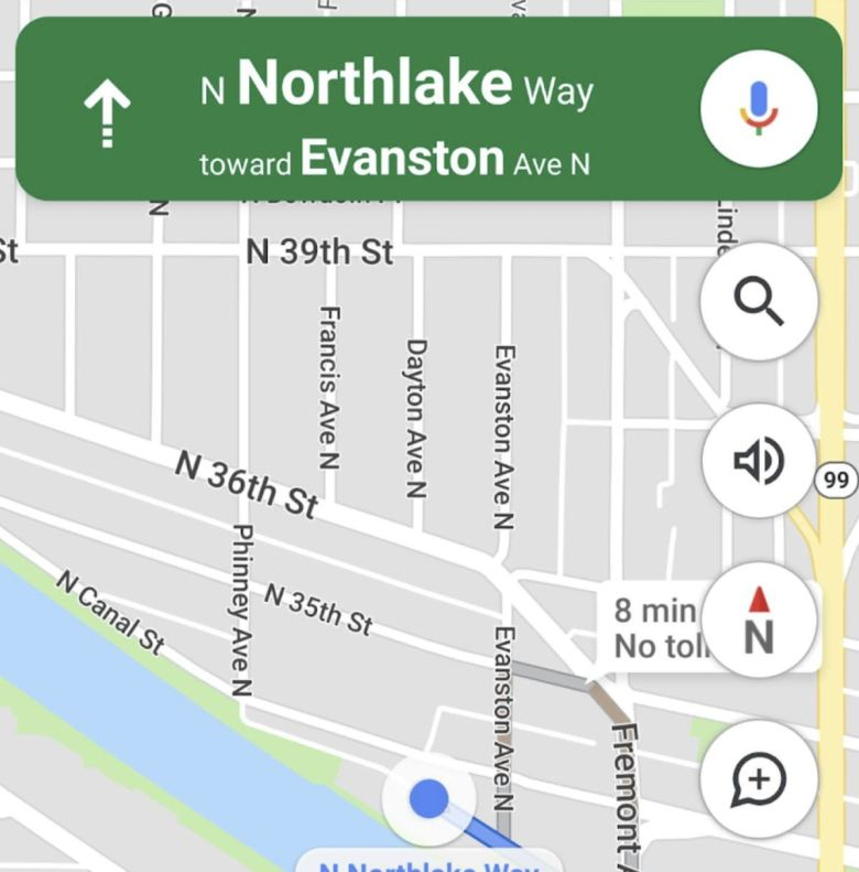 Google Maps Kompass Comeback