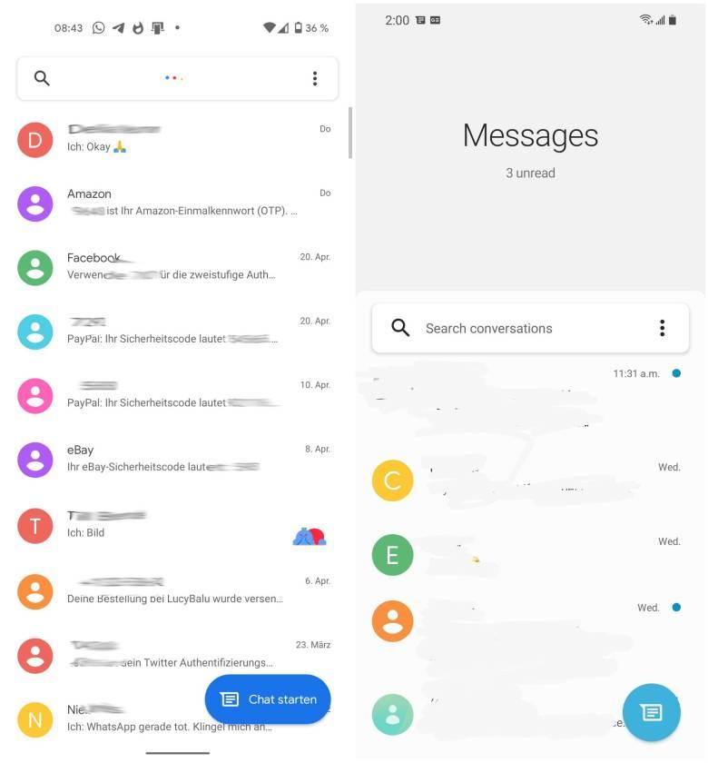 Google Messages Samsung
