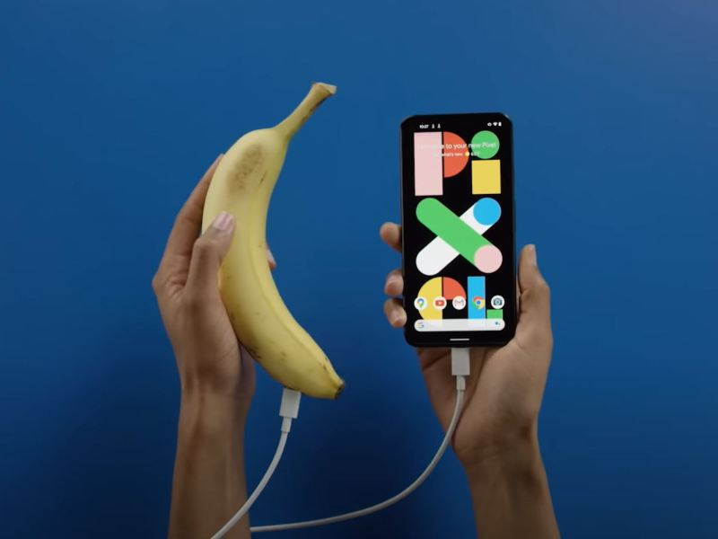 Google Pixel Banane