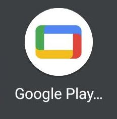 Google Play Filme Neues Icon