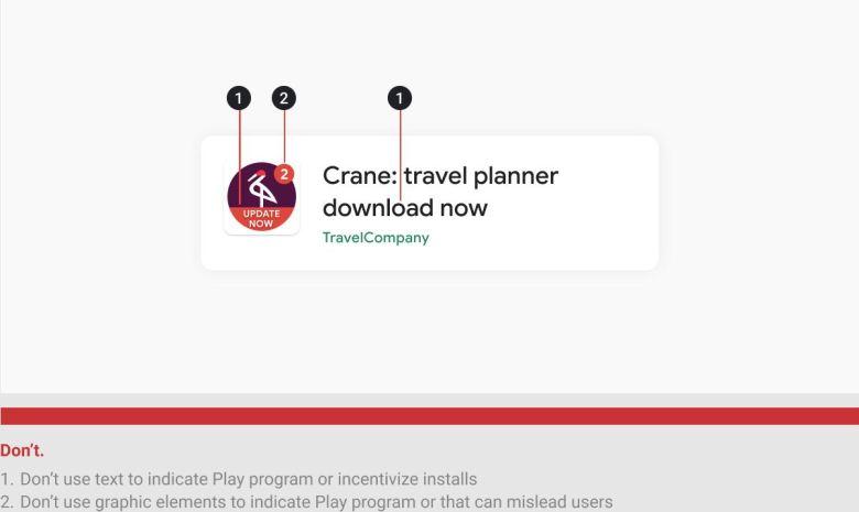 Google Play Aturan aplikasi baru April 2021