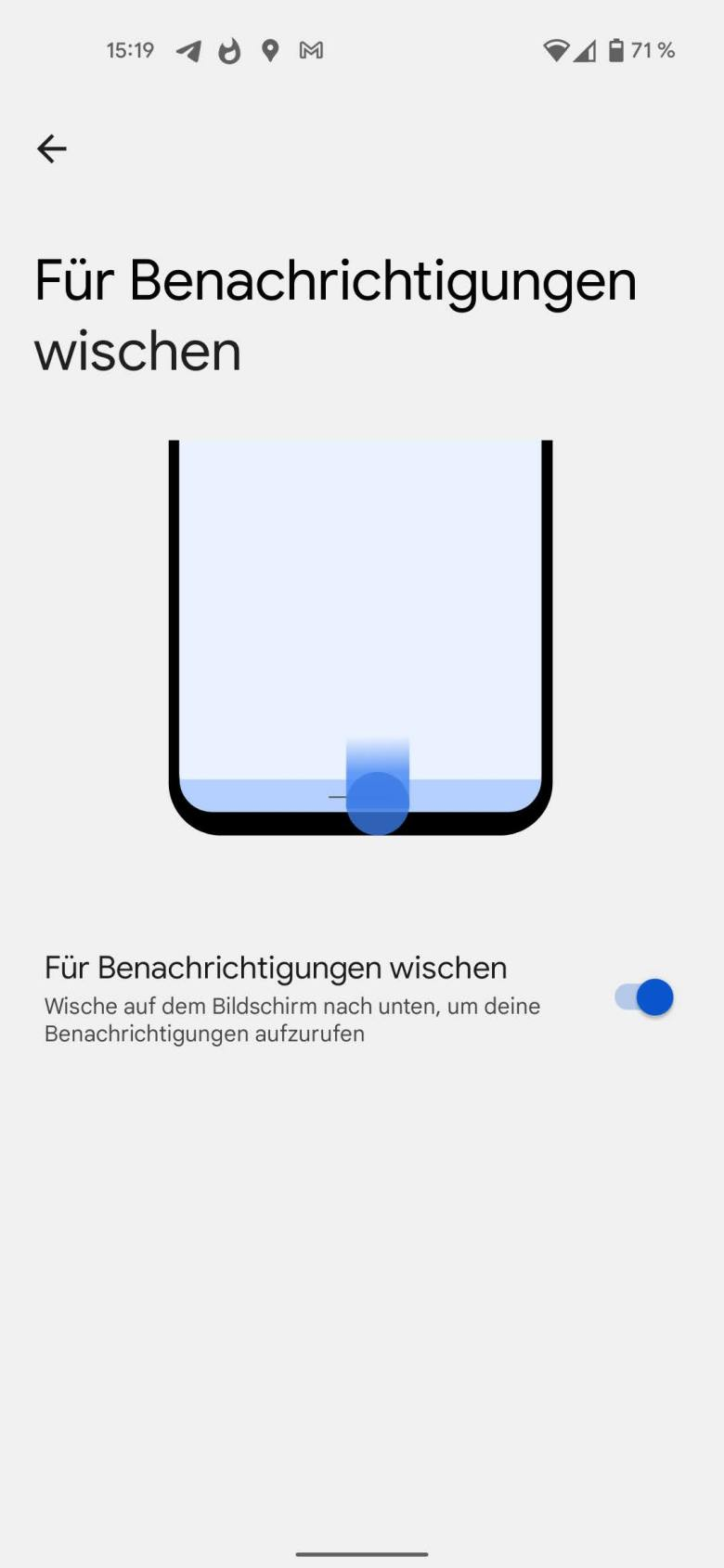 Android 12 Beta Benachrichtigungen Wischen