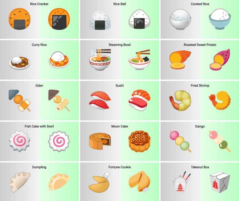 Android 12 Emoji Design 3
